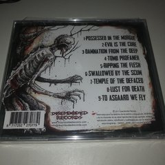 Bloodfiend - Damnation From The Deep CD - comprar online