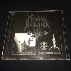 Maniac Butcher - Immortal Death / The Incapable Carrion Cd