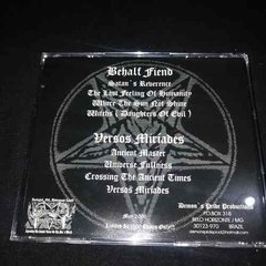 Behalf Fiend / Versos Miríades - Honor & Pride For Satan Cd  - comprar online