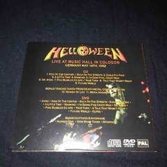Helloween - Live At Music Hall In Cologon Cd + Dvd - comprar online