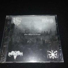 Four Ways To Chaos - Split Negro Bode Terrorista Cd