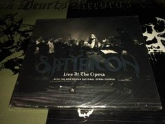 Satyricon - Live At The Opera Cd Duplo + Dvd Digifile