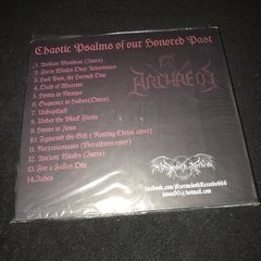 Archaeos ‎– Chaotic Psalms of Our Honored Past CD - comprar online