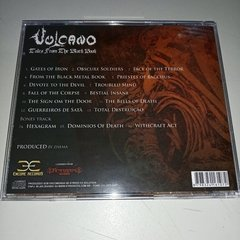 Vulcano - Tales From The Black Book Cd - comprar online