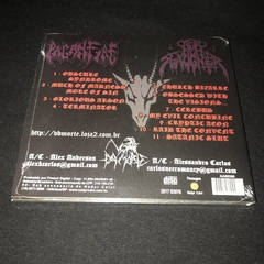 Paganfire/Nunslaughter - Obscured Visions of Satanic Arson Cd Digipak - comprar online