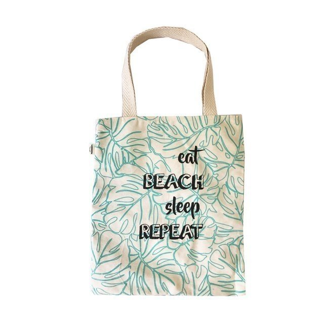 Tote Eat Beach Sleep Repeat