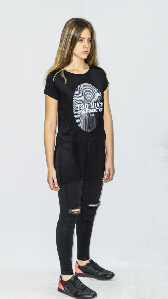Remera Too Much Art I17M163 - comprar online