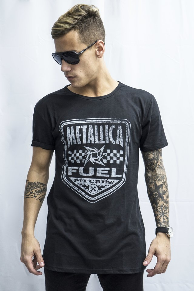 Remera Metallica Art V181004/2