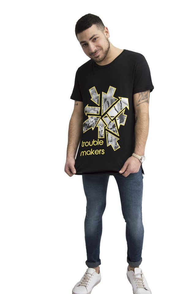 Remera Trouble Makers Art V181082 - comprar online