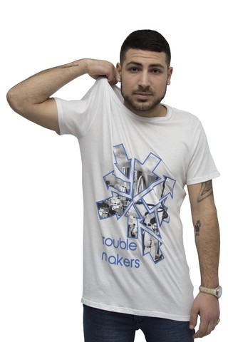 Remera Trouble Makers Art V181082 en internet