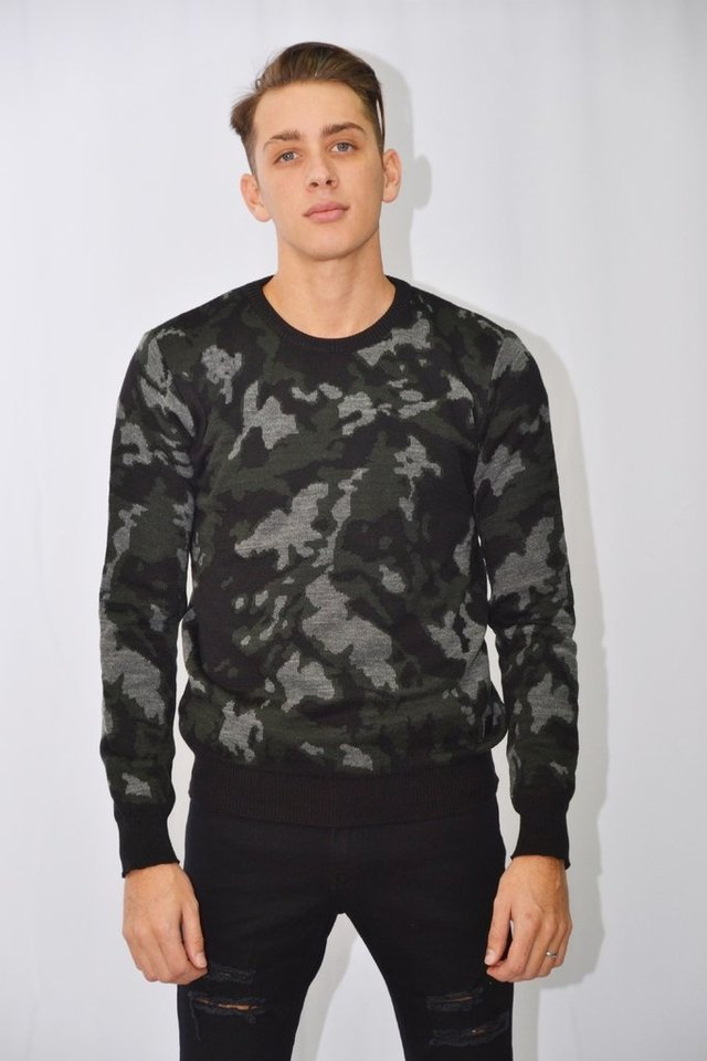 Sweater camuflado Art I177001
