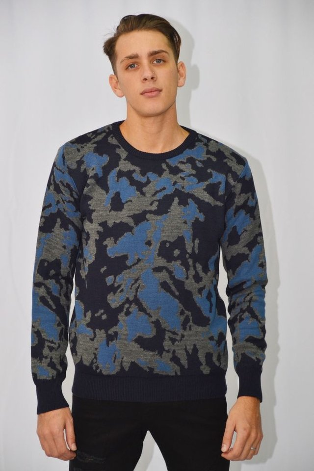 Sweater camuflado Art I177001 - vetealdiablo