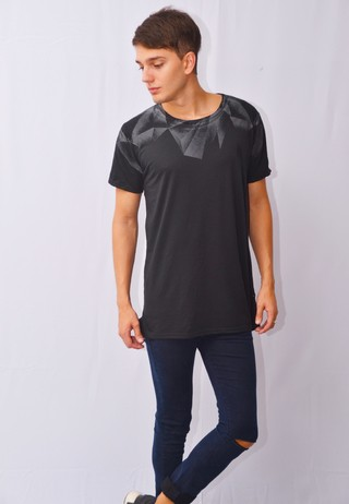 Remera Geometral Art I171138