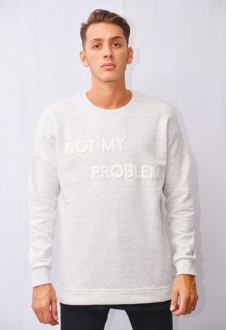 Buzo Not My Problem Art I174019 - tienda online