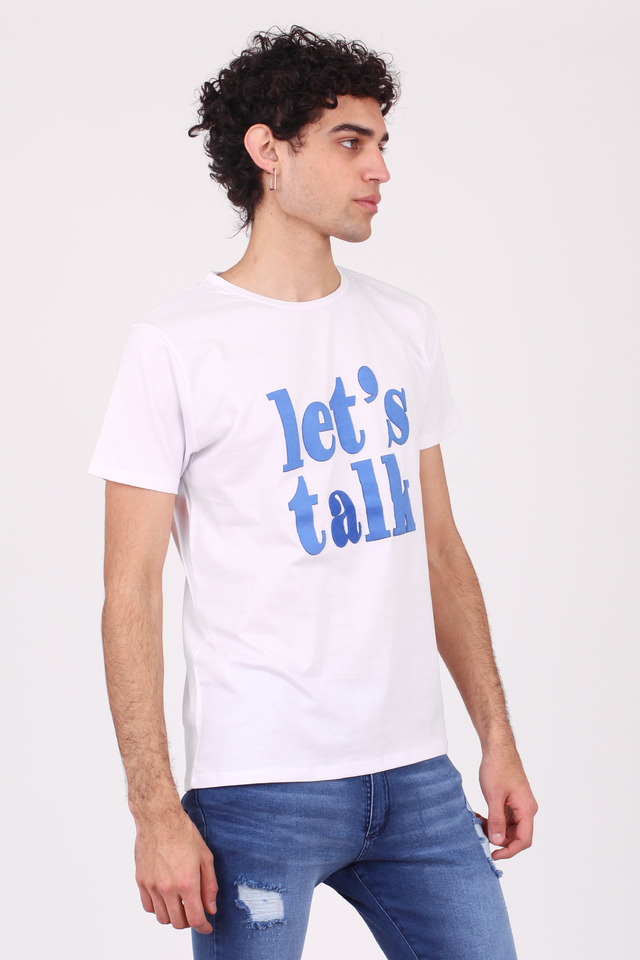 REMERA LET'S TALK en internet