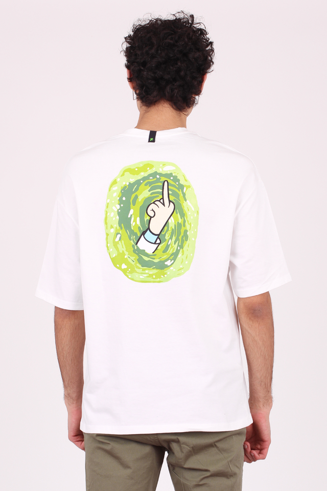 REMERA OVERSIZE RICK AND MORTY - Vete al Diablo