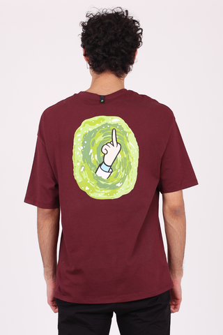 REMERA OVERSIZE RICK AND MORTY - comprar online