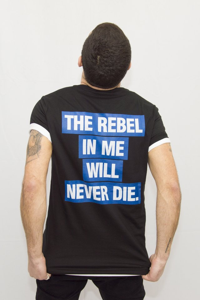 Remera Rebel Art V181002