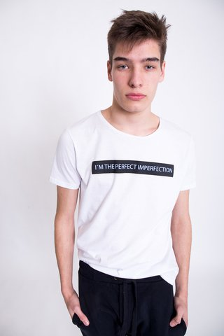 REMERA PERFECT IMPERFECTION - Vete al Diablo