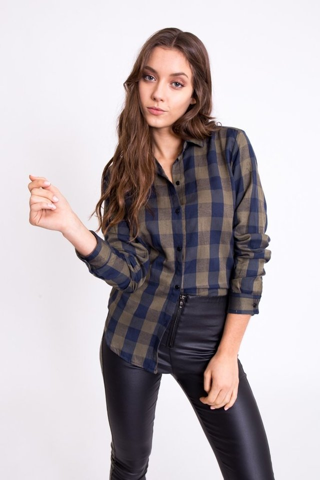 Camisa Ashley Escocesa - tienda online