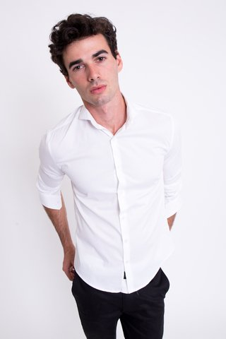 Camisa Slim Basic en internet