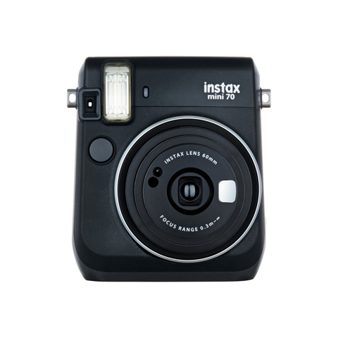 instax mini 70 Instant Film Camera (Black)
