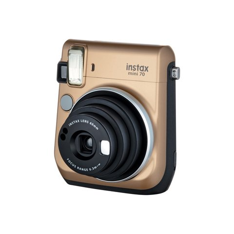 instax mini 70 Instant Film Camera (Gold)