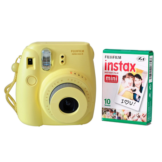 Fujifilm instax mini 8 Yellow + pack x10 fotos