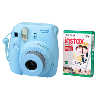 Fujifilm instax mini 8 Blue + pack x10 fotos