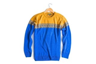 Sweater Woodstock Blue