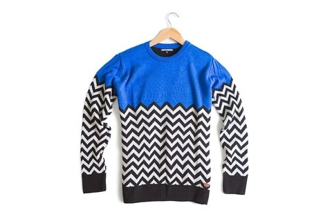 Sweater Lynch Blue - comprar online