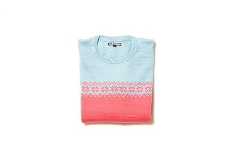 Sweater Woodstock Pink