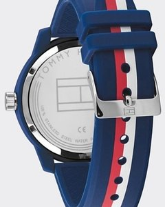 Reloj Tommy Hilfiger Hombre Azul Denim 1791746 Silicona - Cool Time