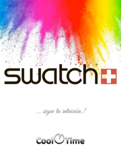 Imagen de Reloj Swatch Unisex Pink Taste So27b113 Big Bold Spectrum