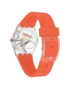 Reloj Swatch Mujer Essentials Red Away Ge722 Silicona Rojo - Cool Time