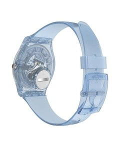 Reloj Swatch Mujer Azzura Gl122 Silicona Celeste Sumergible - Cool Time