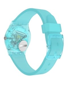 Reloj Swatch Mujer Celeste Mint Flavour Gl123 Silicona 30 Wr - Cool Time