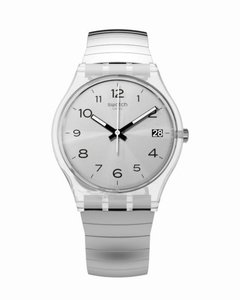 Reloj Swatch Mujer Silverall Plateado Gm416 Talle A Acero Wr