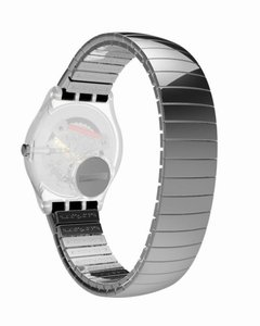Reloj Swatch Mujer Gent Metallix Silverall Gm416b Talle B - Cool Time