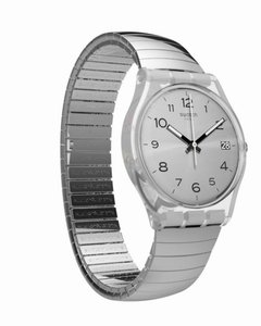 Reloj Swatch Mujer Gent Metallix Silverall Gm416b Talle B - comprar online
