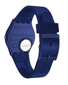 Reloj Swatch Mujer Silver In Blue Gn416 Silicona Sumergible - Cool Time