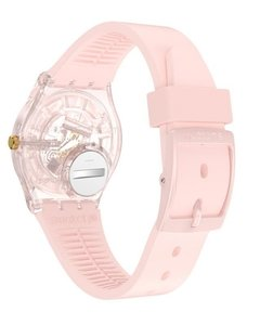Reloj Swatch Mujer Kwartzy Rosa Gp164 Silicona Sumergible - Cool Time