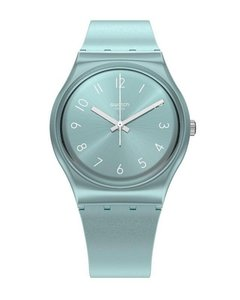 Reloj Swatch Mujer So Blue Gs160 Celeste Silicona Sumergible