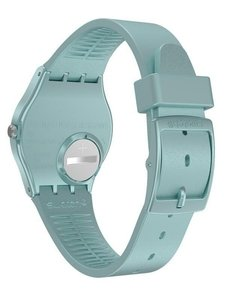 Reloj Swatch Mujer So Blue Gs160 Celeste Silicona Sumergible - Cool Time