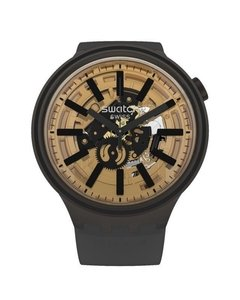 Reloj Swatch Unisex Big Bold So27b115 Dark Taste