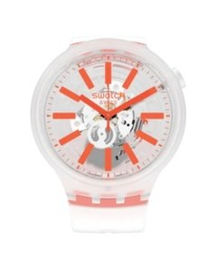 Reloj Swatch Mujer Big Bold Orangeinjelly So27e102 Silicona