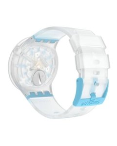 Reloj Swatch Mujer Big Bold Blueinjelly So27e105 Silicona Wr - Cool Time