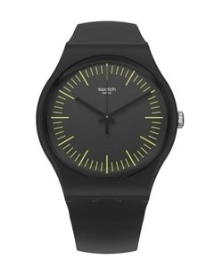 Reloj Swatch Unisex Monthly Drops Suob184 Blacknyellow - comprar online