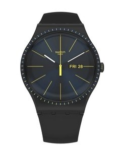 Reloj Swatch Unisex Essentials Black Rails Suob731