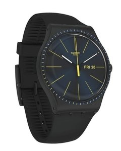 Reloj Swatch Unisex Essentials Black Rails Suob731 - comprar online